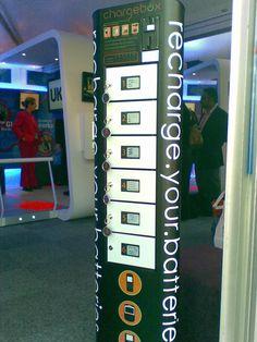 MWC charging station Barcelona