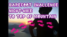 Barefoot Challenge to top of Mountain - Extreme Night Hike to the top of Pilatus (barefoot) Adventure started by night.Pilatus at Night to see t. Gopro, Barefoot, Hiking, Challenges, Comic Books, Mountain, Adventure, Comics, Night