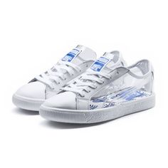 a03db96e8eaecd Image 1 of PUMA x SHANTELL MARTIN Clyde Clear Sneakers