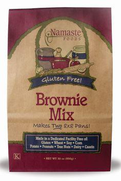 Namaste Foods Brownie Mix #vitacostfoodie