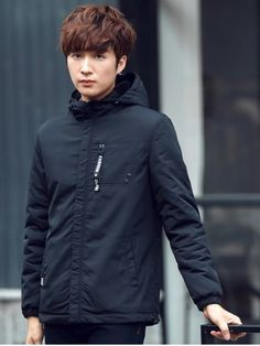 GET $50 NOW | Join RoseGal: Get YOUR $50 NOW!http://www.rosegal.com/mens-jackets/pocket-elastic-cuff-zippered-hooded-1010683.html?seid=8119039rg1010683