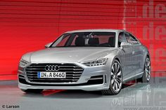 Audi A8 (next gen render) 1