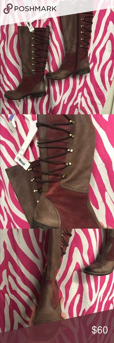 Naya the famous maker n leather wmns boots Sz 8m Apollonia style Retailed new for $199.00 pls at most fine dept stores this preloved but amazing clean n well preserved steampunk style almost boots side zip and they are soo amazing . Naya Shoes