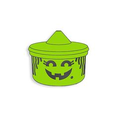 Witch Halloween Lunchbox Enamel Pin by YesterdaysCo on Etsy