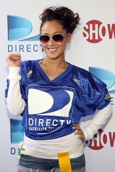 Urbanely inebriate Adrienne Bailon ...  Ritzy Hairstyles...   Bailon has also done solo music work, contributing to the Confessions of a Shopaholic soundtrack, and numerous guest appearances.