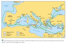 Ancient Greek Trade Routes. The Greeks just like many ancient civilizations, traded.