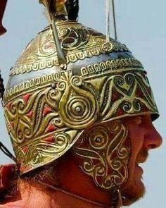 Fantasy Figures, Fantasy Armor, Iron Age, Gaul Warrior, Roman Armor, Celtic Druids, Celtic Clothing, Celtic Warriors, Celtic Culture