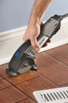 Dremel Saw Max will cut anything...ANYTHING!  I want one of these sooooooo badly!!!!!