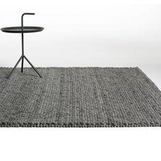 Peas rug by Hay Denmark in 'dark grey melange'. Hay Design, Design Shop, Living Comedor, Scandinavia Design, Kartell, Luminaire Design, Danish Design, Modern Design, Interiors