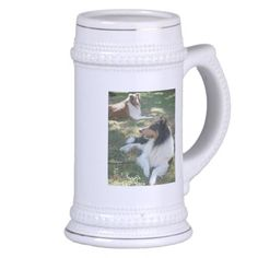 COLLIE LOVERS STEIN MUGS Sold 3/17/14