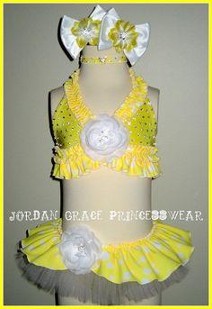 Swimwear 069-Jordan Grace Princesswear custom pageant swimwear