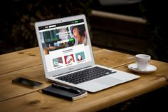 put your logo or website on a laptop screen mockup by iweczek