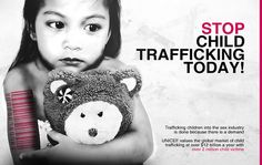 Stop child trafficking! It has to end #endslavery