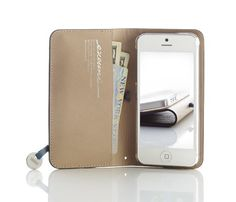 truffol.com | iPhone 5 Leather Arc Wallet...if I ever have an iPhone or am gifting this to someone who does