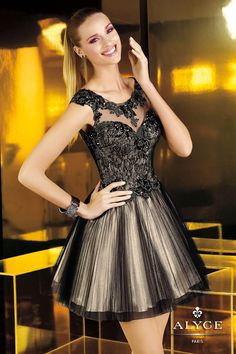 Alyce Paris Homecoming 4338 $300 #prom dress #4338 #prom #homecoming #paris #girl #alyce #princess #dress #sexy