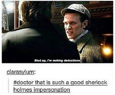 We were all thinking how accurate this was when we watched this episode.