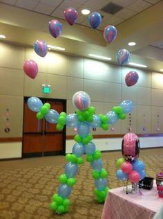 Birthday All Out Ballooning Balloon Stands, Balloon Display, Love Balloon, Balloon Crafts, Birthday Balloon Decorations, Birthday Balloons, Balloon Columns, Balloon Arch, Deco Ballon