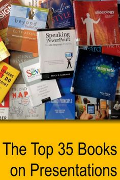 Top 35 Presentation Books: Expert Ratings, by @6minutes