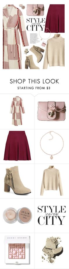 """""""Statement Coats"""" by beebeely-look ❤ liked on Polyvore featuring Jil Sander, Alice + Olivia, Stila, Bobbi Brown Cosmetics, StreetStyle, WorkWear, streetwear, rosegal and statementcoats"""