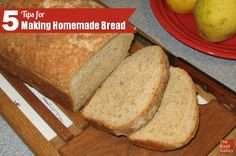 Baking bread from scratch isn't all that difficult, and these 5 tips will make it even easier.