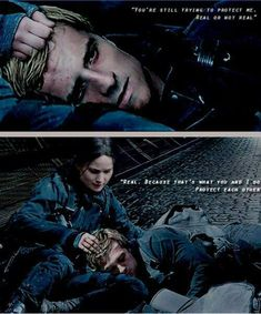 hunger games mockingjay part 2 peeta and katniss - Google Search