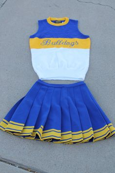 Vintage 1960s Cheerleader Outfit Skirt and by TheBeardandLady, $35.00 -- love the skirt!