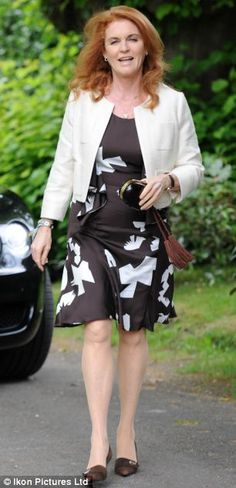 Sarah, Duchess of York arrives at the wedding of Arabella Llewellyn and Thomas Burwell Princess Eugenie And Beatrice, Princess Alexandra, Princess Mary, Gabriella Wilde, Sarah Ferguson, Sarah Duchess Of York, Duke And Duchess, Eugenie Of York, Elisabeth Ii