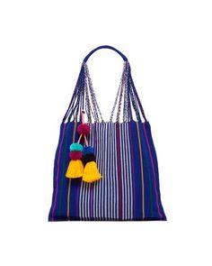 las rayas bag - royal blue
