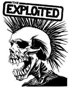 The Exploited, one of my favs from back in the day. I wish I saved the email from Watty, the lead singer. He is without question a pig. lol