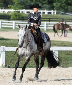 Trouble slowing your horse at the lope? Try this conditioning program.