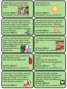 Year 5 / Grade 5 Class Activities and News: Maths Ideas Ks1 Maths, Math Literacy, Math Classroom, Teaching Math, Numeracy, Class Activities, Teacher Resources, Consumer Math, Math Quotes
