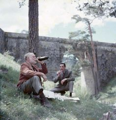 Eating and drinking Hemingway style