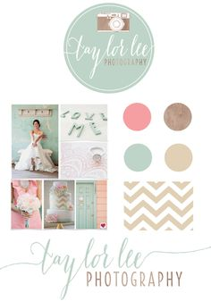 I like the colors. Soft and vintage feel but still fresh. Taylor Lee brand inspiration by Heart & Arrow