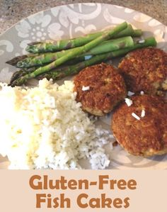 These fish cakes are a gluten-free favorite in my house; myself, my husband and both my boys will clean their plates when they are served, and that is not an everyday occurrence!