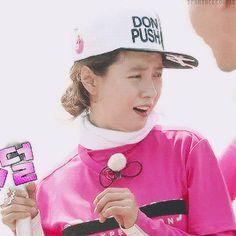 Song Ji Hyo, Running Man ep. 306. © on gif