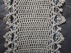 filo e perline infinità sciarpa