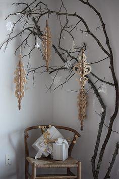 Holiday decorations, christmas tree alternative
