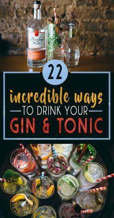 kokteyl tarifleri 22 Gin And Tonics That Will Blow Your Mind Summer Cocktails, Cocktail Drinks, Alcoholic Drinks, Beverages, Cucumber Cocktail, Bartender Drinks, Gin Cocktail Recipes, Gin Und Tonic, Mets Vins