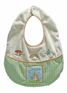 "Guess How Much I Love You Rabbit and Bunny Baby Bib, , 11X13"" by Pickles, http://www.amazon.com/dp/B003VM8S12/ref=cm_sw_r_pi_dp_LJF-pb00SW0NN"