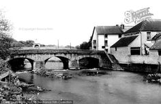 Haverfordwest, Old Bridge from Francis Frith Welsh Castles, Cymru, Back In Time, Historical Photos, Wales, Bridge, Honey, History, Architecture