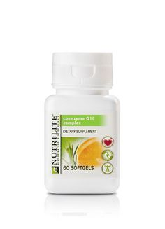 NUTRILITE CoQ10 provides 30 mg of the essential co-enzyme, Q-10, in each softgel. Our bodies use an enzyme – CoQ10 – to make energy for our heart cells to do their work. As we age, enzyme levels drop. Supplements can help. To get the equivalent amount of this beneficial enzyme in your diet, you would have to eat 2 pounds of beef, every day. Each softgel also provides Citrus Bioflavonoid Concentrate for additional benefits -- $57.40