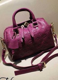 Designer Purple Handbag