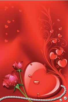 Valentine Background vector art illustration