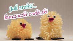 Żółciutkie kurczaczki to obowiązkowy element wielkanocnych dekoracji. Zobacz więc nasz film i zrób z dzieckiem fantastyczne kurczaczki z włoczki. Super zabawa gwarantowana