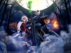 The Nightmare Before Christmas: Oogie's Revenge | Sandy Claws, Jack Skellington and The Pumpkin King
