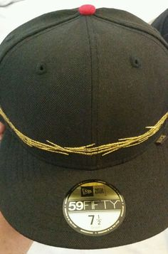 New Era Crown of Thrones 7 3 4 Fitted Cap Hat Black Scale Exclusive in c944609396d3