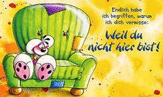 Diddls Homepage - Offizielle Internetseite der Diddl-Maus - Highlights - Diddl Postkarten Miss You, Love You, Bujo Doodles, Yoshi, Clip Art, Happy, Cards, Fictional Characters, Cartoons