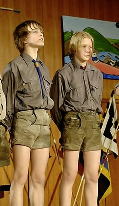 German scout college redhead teen lia in public casting 7