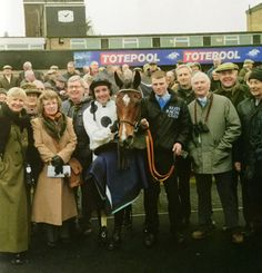 Club members with Clemency & Andrew Tinkler at Huntingdon, 6 January 2016