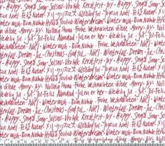 Winterfall Text Red